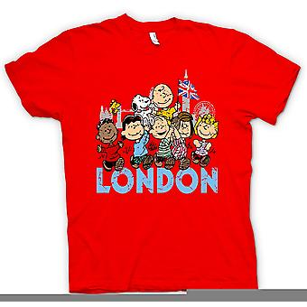 Womens T-shirt-Snoopy - London - lustige Cartoons