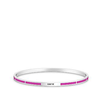 Ghostbusters Slime tid gravert emalje armbånd i rosa