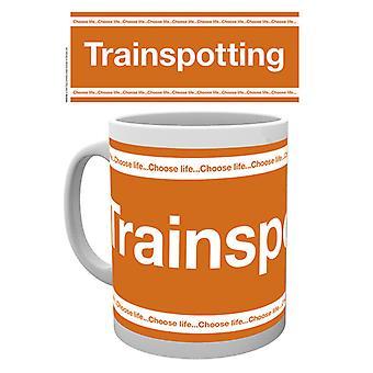 Trainspotting Logo Boxed Drinking Mug
