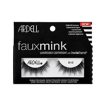 Ardell Faux Mink 810 Eye Lashes Lightweight Invisiband Full Lash Look