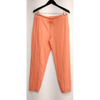 Xhilaration Lounge Pants Pull On Drawstring Solid Pink Womens