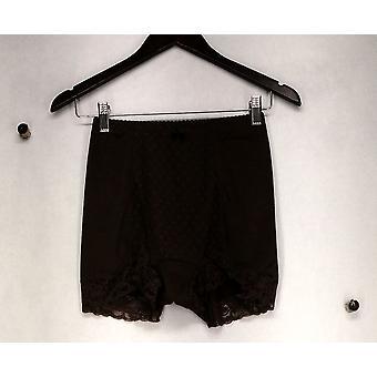 Rhonda Shear Laced Boyshorts Style Brown Panties Womens