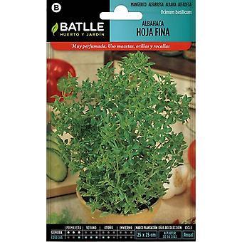 Batlle Fine- Leaved Basil (Garden , Gardening , Seeds)