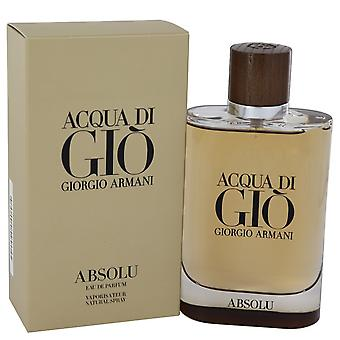 Acqua Di Gio Absolu av Giorgio Armani Eau De Parfum Spray 4.2 oz/125 ml (män)