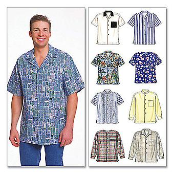 Men's Shirts  Med Pattern M2149  Med