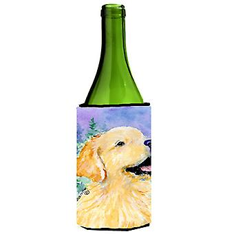 Golden Retriever Wine Bottle Beverage Insulator Beverage Insulator Hugger SS8904LITERK