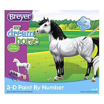 Breyer Paint By Numbers 3D - Dapple Gray Horse