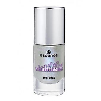 Essence All That Shimmers Top Coat 29 Make A Wish! (Woman , Makeup , Nails , Treatments)