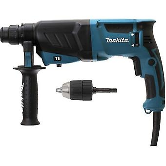 Makita 26mm lightweight hammer  800W  + Set-mandrel axis sds-plus HR2630X7