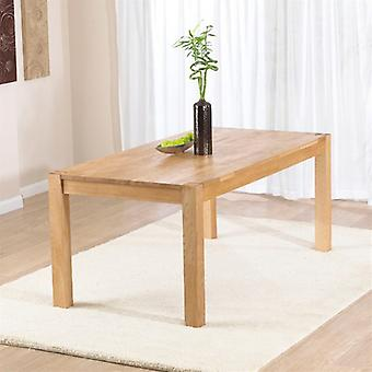 Mark Harris Verona 180cm Solid Oak Dining Table