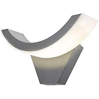 LED outdoor wall light 9 W Warm white Esotec SwingLine 201140 Anthracite