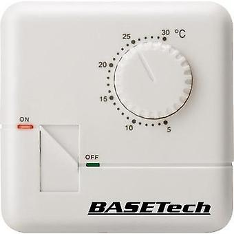 Room thermostat Structure 24 h mode 5 up to 30 °C Basetech MH-555C
