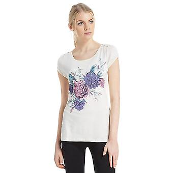 New Peter Storm Women's Birdy Short Sleeve T-Shirt Cream