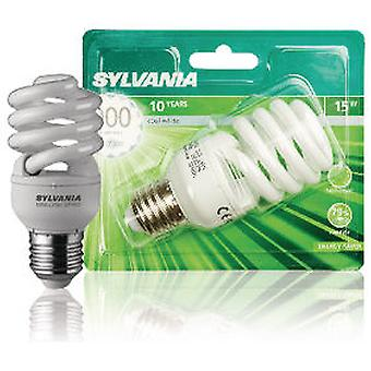 Sylvania Bl1 Mlfs bulb spiral 15W E27 Color 840 (Home , Lighting , Light bulbs and pipes)
