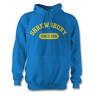 Shrewsbury Town 1886 Established Football Hoodie