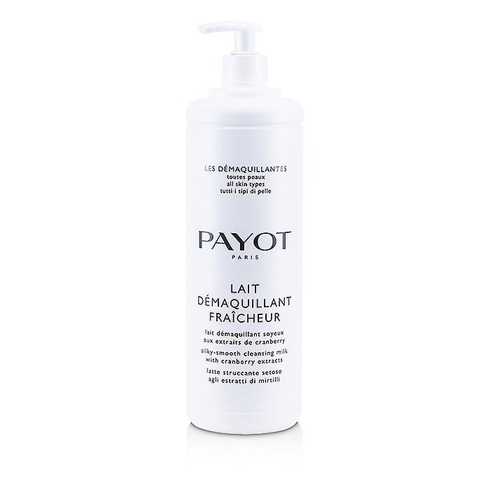 Payot Les Demaquillantes Lait Demaquillant Fraicheur Silky-Smooth Cleansing Milk - For All Skin Types (Salon Size) 1000ml/33.8oz