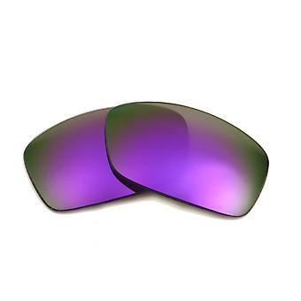 New SEEK Polarized Replacement Lenses for Oakley HIJINX Purple Mirror