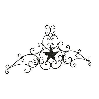 Ścianie zachodniej gwiazdy dekoracyjne metalowe przewijania rzeźby 48 cali