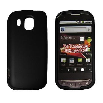 Silicone Gel Protective Cover for Samsung Transform Ultra M930 (Black)