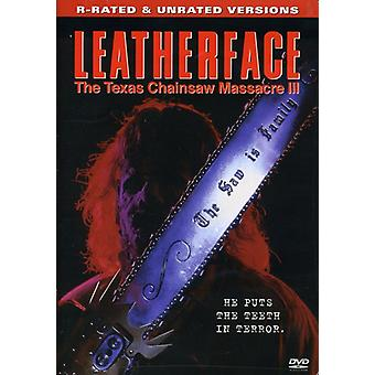 Leatherface-Texas Chainsaw Massacre 3 [DVD] USA import