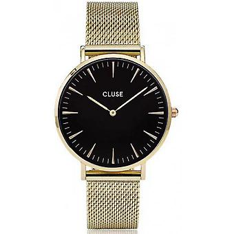 Watch Cluse Bohemia CL18110 - mixed gold Milanese