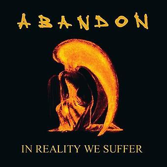 Opgive - i virkeligheden lider vi under [Vinyl] USA importerer