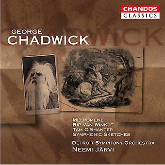 G.W. Chadwick - Chadwick: Melpomene; Rip Van Winkle; Tam O' Shanter; Symphonic Sketches [CD] USA import