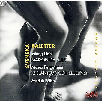 Dahl/Pergament - Svenska Baletter: Viking Dahl - Maison De Fous; Moses Pergament - Krelantems Och Eldeling [CD] USA import