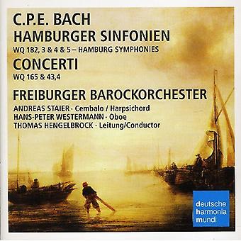 C.P.E. Bach - C.P.E. Bach: Importación E.e.u.u. hamburguesa Sinfonien y Concerte [CD]