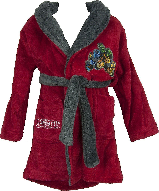 Boys Gormiti Dressing Gown / Bathrobe