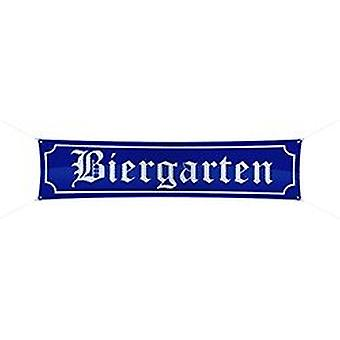 Pennant huge beer garden 180 x 40 cm flag decorative Beer Festival