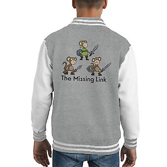 Varsity Jacket del capretto di Missing Link Zelda