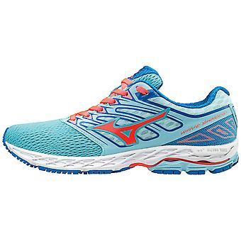 Mizuno women's running shoe lightweight wave shadow blue - J1GD173055
