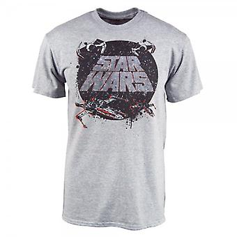 Star Wars Mens Star Wars traditie T Shirt Heather Grey