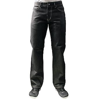 LRG Grass Roots sande Straight Fit Jeans rå sort