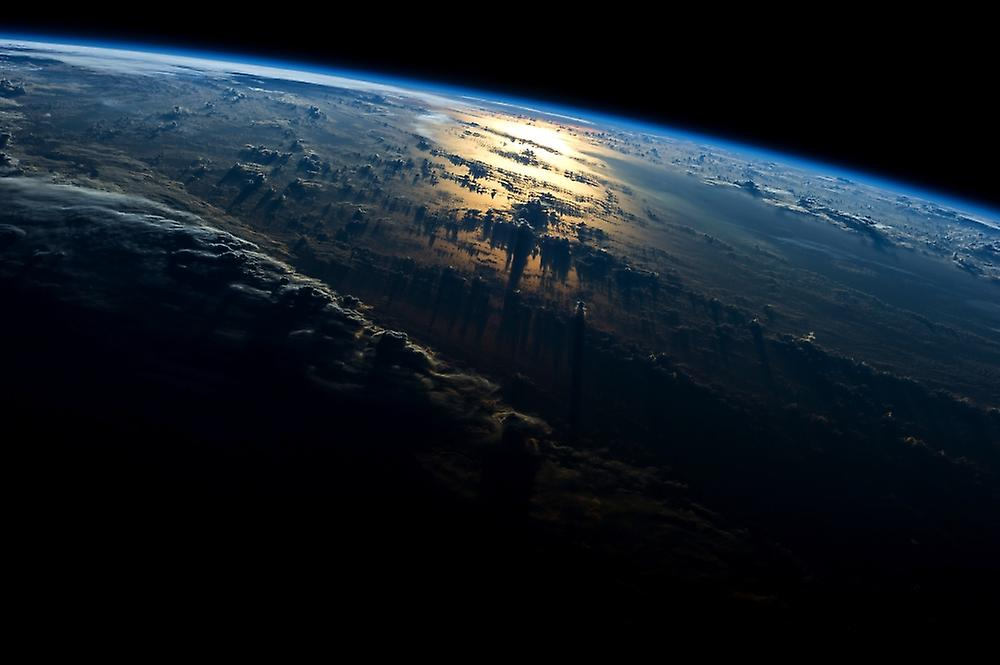Satellite view of planet Earth showing South Carolina and North Atlantic Ocean USA Poster Print by Panoramic Images (36 x 24)