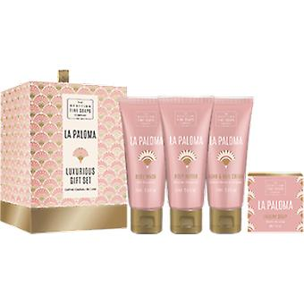 Scottish Fine Soaps Set regalo La Paloma