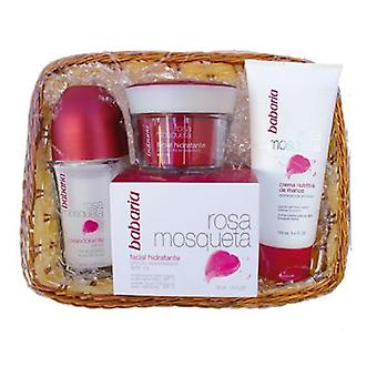 Babaria Barbaria Rosehip Cream 50ml + Deodorant + Body Lotion 100Ml + Cart