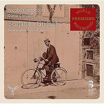 Godard, B. / Dautricourt, Nicolas / Ciocarlie, Dana - sonater for Violin & Piano [CD] USA import