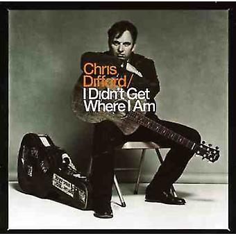 Chris Difford - jeg fik ikke hvor jeg er [CD] USA importerer