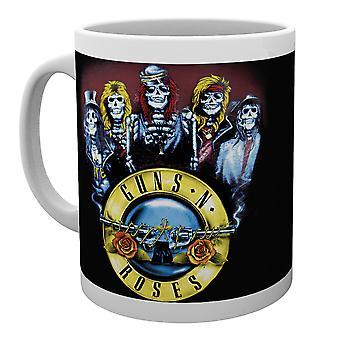 Guns N Roses Skeleton Mug