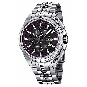 FestinaMens2015Chronobike, BlackDial, PurpleF16881/6 Watch