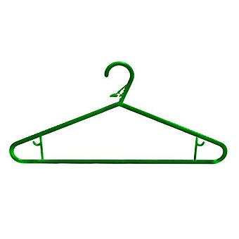 Caraselle 1 Pack of 5 HangDry Laundry Hangers in Green