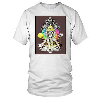To Soma Heliakon - Yoda Buddha Meditation Kids T Shirt