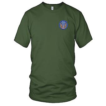 USAF Airforce - 20 Air Force skulder broderet Patch - Herre T-shirt