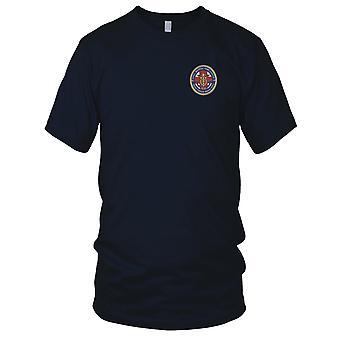 US Navy Naval Hospital Camp Lejeune, North Carolina Embroidered Patch - Ladies T Shirt