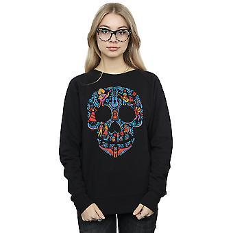 Disney Women's Coco Skull Pattern Sweatshirt