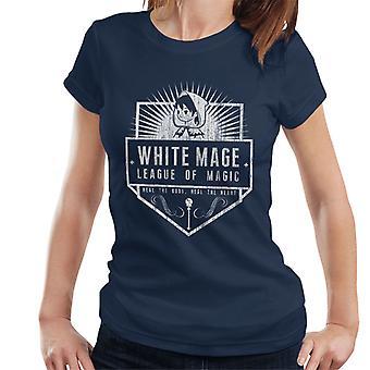 Final Fantasy Liga der weißen Magie Damen T-Shirt
