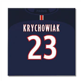 2016-2017 PSG-Leinwand (Krychowiak 23)