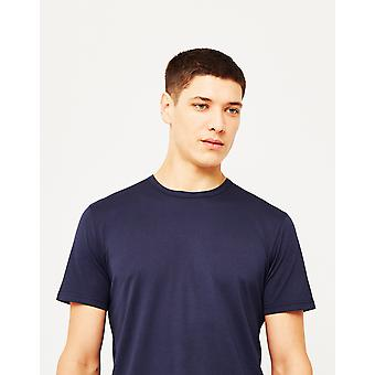 Sunspel Q82 kortærmet T-Shirt Navy